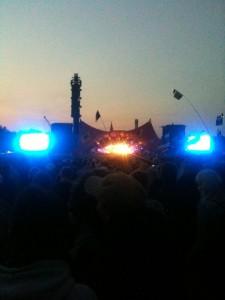 Arbejde på Roskilde Festival